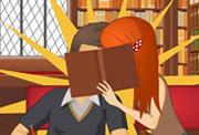 game Kissing in the Library