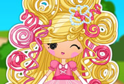 game Lalaloopsy Girls Cinder Slipper Dress Up Game