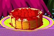 game Make Raspberry Cheesecake