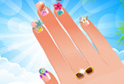 game Nail Studio Beach Design