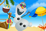 game Olaf Summer Dress Up