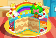 game Rainbow Cake Decorating Games