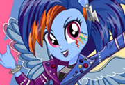 game Rainbow Rocks Rainbow Dash Rockin' Hairstyle