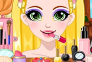 game Rapunzel Glittery Makeup