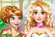 game Rapunzel Princess Wedding