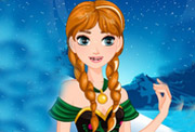 game Snow Princess Anna Dental Care