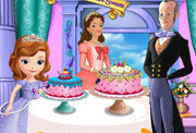 game Sofia and Queen Miranda Palace Sweets