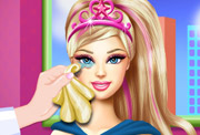 game Super Barbie Eye Treatment