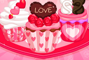 game Sweet Valentine Cupcakes