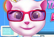 game Talking Angela Eye Treatment