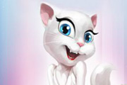 game Talking Angela Puzzle