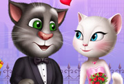 game Talking Tom and Angela Valentines Date