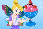 game Tinkerbell Special Strawberry Ice Cream