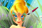 game Tinkerbell Spring Face Painting