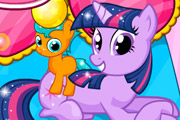 game Twilight Sparkle Gave Birth Twins