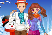 game Winter Couple Love